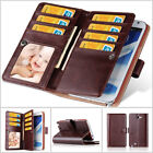 Luxury Retro Vintage Multifunction Wallet Case Cover For Samsung Galaxy Note 2