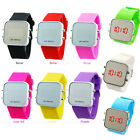 Unisex Digital Watch Fashionable Gel Silicone Sport Time Classic For Kids