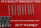 Replacement 10 X Pins For Your Vintage Tag Heuer Bracelet F1 Formula One Pin