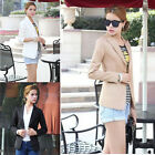 2014 New Fashion Women Slim Blazer Coat Casual Jackets V-Neck Suit Outerwear