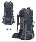 NEW 70L women men Outdoor Backpack Hiking Camping Travel Rucksack Waterproof Bag