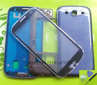C-Samsung Galaxy S3 III i9300 Full Housing Case+Outer Screen Glass Lens+Track