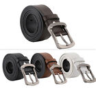 2014 New Mens Luxury Full Grain Genuine Leather Buckle Casual Dress Strape Belts