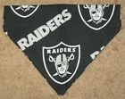 Oakland Raiders Dog Bandana - 5 sizes XS - XL $4.49 USD on eBay