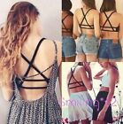 Women Sexy Crop Top Bustier Cutout Tank Cami Underwear