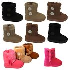 Внешний вид - New infant toddler girls boots baby kids babies youth australian booties shoes