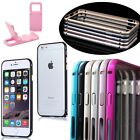 "For iPhone 6 4.7"" 6 Plus 5.5"" Metal Thin Bumper Case Aluminum Alloy Frame Cover"