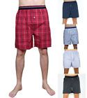 Mens Cotton Loose Fit Boxer Shorts Trunks Sleep Shorts - 7 Colours S M L XL XXL