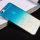 Hard Case Cover Raindrop For Various Apple Iphone Phones +screen Protector