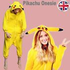 Cosplay Costume Animal Onesie Pikachu Onesie Kigurumi Pyjamas Hoodies Sleepwear