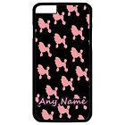 PERSONALISED PINK POODLE PRINT iPHONE 6 + PLUS HARD CASE/COVER