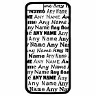 PERSONALISED BLACK & WHITE MULTI NAME PRINT iPHONE 6 + PLUS HARD CASE/COVER