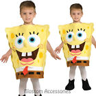 CK290 Spongebob Squarepants Deluxe Sponge Bob Boys Girls Fancy Dress Costume