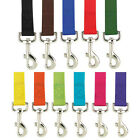 Bulk Lot Nylon Dog Leash, USA Seller, 11 Colors, 3 sizes, Durable Lead