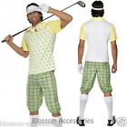 CL193 Mens Gone Golfing Golfer Pub Golf Stag Night Fancy Dress Sports Costume