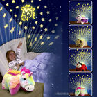 AMAZING LITES KIDS TOY CUDDLY ANIMAL CUDDLE PET PILLOW CUSHION DREAM NIGHT LIGHT