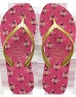 Havaianas Women`s Flip Flops High Light II Orchid Rose Wedge Sandal Any Size NWT