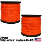 2 5lb .095 Star Orange Commercial String Trimmer Line Fits Echo Crossfire Shape