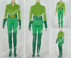 Batman And Robin Poison Ivy Cosplay Costume Green Uniform Suit Outfit Whole Set