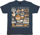 New The Big Lebowski Quote Collage Mashup Licensed Adult T Shirt Great Movie