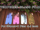 Coloured Tempered Glass Mirror Effect Screen Protector Film iPhone 6 Plus 5.5""