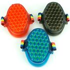 Horse Rubber Brush with Bathing Sponge For Horse Pet  Care Aid