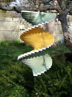 Windmobile floating twister spinner patio porch spiral Outdoor Wind chime Art
