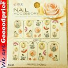 Color Printing Water Tranfer Nail Art Stickers Gift Japanese Lady Style 6-30