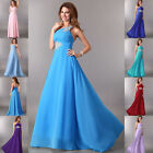 GK Vintage Formal Long Chiffon Evening Party Gown Prom Bridesmaid Wedding Dress