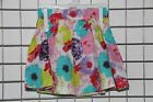 Papoose Bright Floral Skirt Cotton