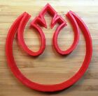 Star Wars Rebel Alliance Cookie Cutter - Choice of Sizes - 3D Printed Plastic