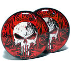 Pair UV Acrylic Ear Plugs Screw Fit Ear Gauges Flesh Tunnels -  The Punisher