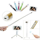 Rechargeable Bluetooth Remote Monopod Tripod Selfie Stick For Moblie phones