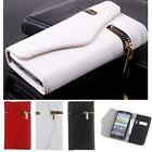 PU Leather Flip Zipper Wallet Case Cover Protective for Samsung Galaxy S5 i9600