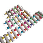 3 Sizes Elastic Pleasure Wood Mouse Hamster Ladder Stairs Pet Parrot Toys New