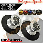CNC Billet Racing Swingarm Spools Sliders M6 for Triumph Street Triple 675 07-12
