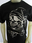 Swords pirate knife skull party tee shirt men's black Choose A Size