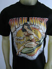 Dinah Might Bomb shell pinup missile vintage tee shirt men's black choose a Size