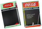 Coca Cola / Coke: Retro Vintage Style Wooden Chalkboard Display - New & Official
