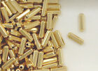 12K Gold Filled Beads Beads, 3x9mm Faceted Capsule Design, New