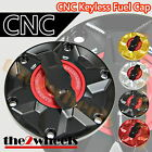 CNC 1/4 Rapid Quick Lock Keyless Fuel Gas Cap KTM 690 DUKE 2012-2014