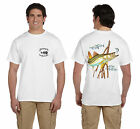 ANGLER WEAR SALTWATER FISHING T-SHIRT SNOOK MANGROVES 2036232