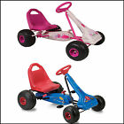Childrens Pedal Powered Go Karts - Pink/Blue - Milan/Streetfox - New Range!