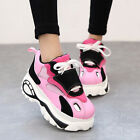 Hot Sale Lady Women Sstylish Multi Color Lace Up Running Sport Train Shoes