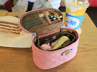 HIMORI Soy Ribbon Pouch - M - Medium Size Cosmetics Case Toiletry Makeup Bag