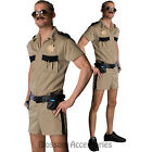 CL282 Reno 911 Lt. Dangle Funny Mens Adult Costume Police Cops Halloween Outfit