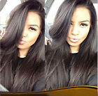 "8"" ~ 22"" Front Lace Wig 100% India Remy Human Hair JAZZ Wave Hot Sale~"