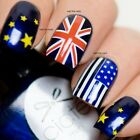 Flags USA UK Nail Wraps Nail Art Nail Decals Water Transfers Salon Quality Y115