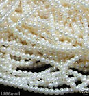 8mm faux pearl plastic loose Full Round beadsBest Quality cream white per 100