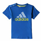 adidas Infant Kids Seperates T-Shirt Tee Blue